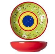 Cosy & Trendy Sombrero Green Plate D20xh5cm (set of 4)