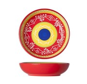 Cosy & Trendy Sombrero Red Plate D15xh3.8cm (set of 4)