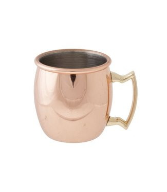 Cosy & Trendy Moscow - Mini Mug - Gold - 8 cl - Copper - (set of 6).