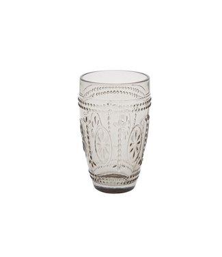 Cosy & Trendy Victoria Brown Glas 20cl D7,5xh12cm (set van 4)