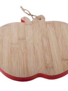 CT Bamboo Board D23x25x1cm Apple Shape