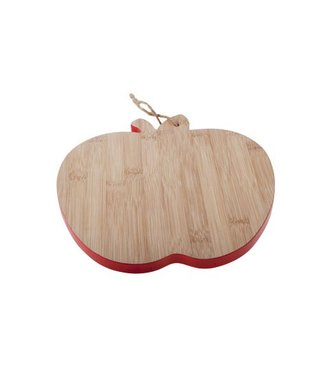 Cosy & Trendy Bamboo Board D23x25x1cm Apple Shape