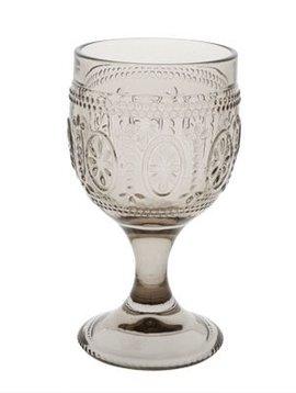 CT Bicchiere da vino Victoria Brown 20cl D8,5x15cm set di 4