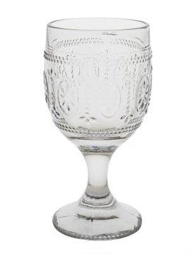CT Bicchiere da vino Victoria Grey 30 cl D9xh17,5cm set di 4