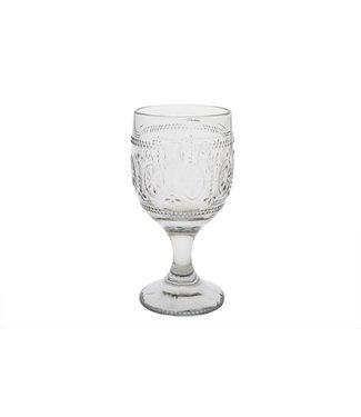 Cosy & Trendy Victoria Grey Wijnglas 30cl D9xh17,5cm (set van 4)