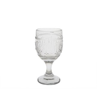 Cosy & Trendy Victoria Grey Wine Glass 30cl D9xh17,5cm (set of 4)