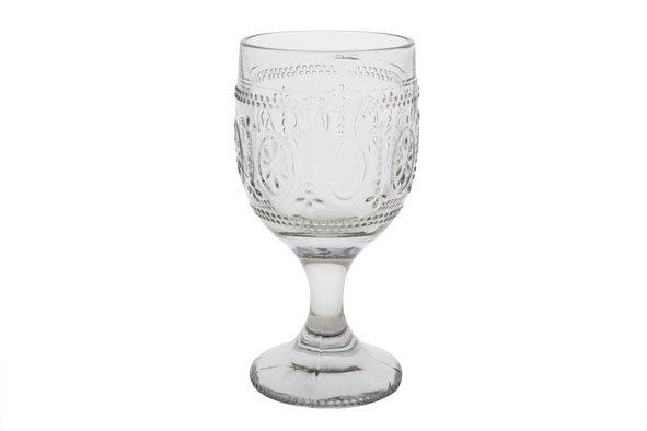 CT Victoria Grey Wijnglas 30cl D9xh17,5cm set van 4