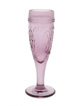 CT Bicchiere Victoria Pink da 12 cl D7,5xh20cm set di 4