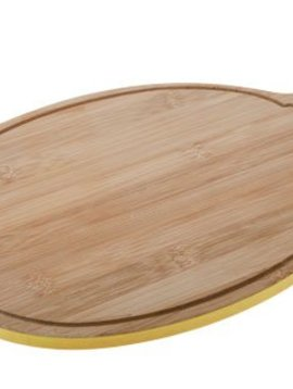 CT Bamboo Board D35x24x1cm Lemon Shape