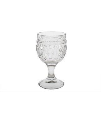 Cosy & Trendy Victoria Grey Wijnglas 20cl D8,5xh15cm (set van 4)