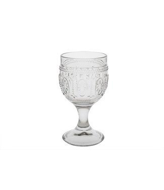 Cosy & Trendy Victoria Grey Wine Glass 20cl D8,5xh15cm (set of 4)