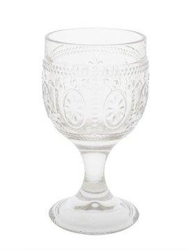 CT Bicchiere Victoria Clear in vetro da 20cl D8,5xh15cm set di 4