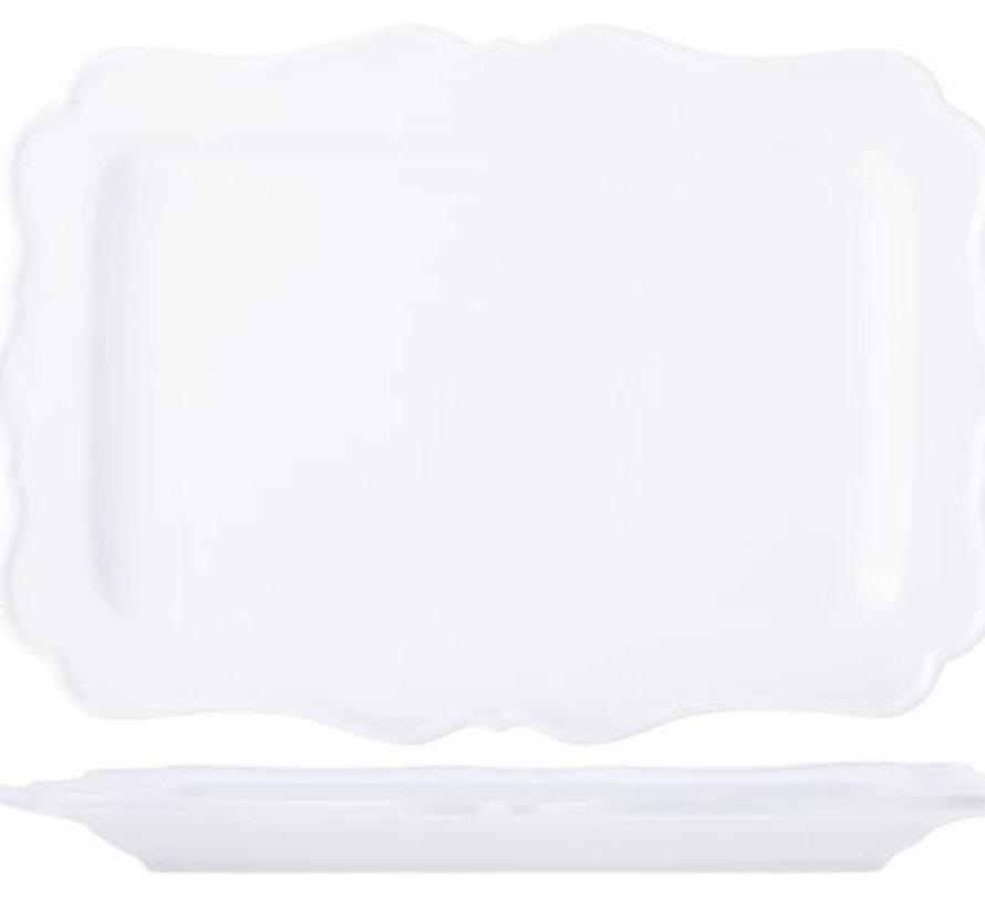 Dentella Plate 25.5x17.8cm