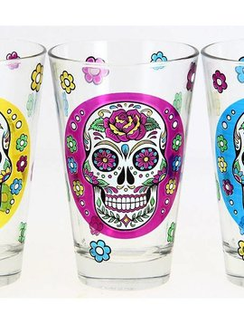 Cerve Mexican Skull Nadia Glass 31cl 3assm71630