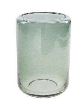 Cosy @ Home Windlicht Donkergroen Rond Glas 10x10xh14,5
