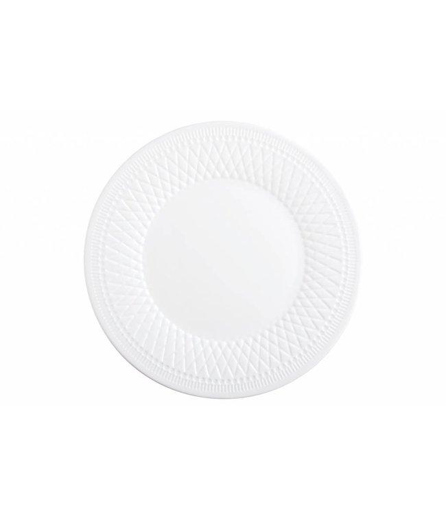 Luminarc Alizee Perle - Dessetbord - Wit - 22cm - Glas - (set van 6)