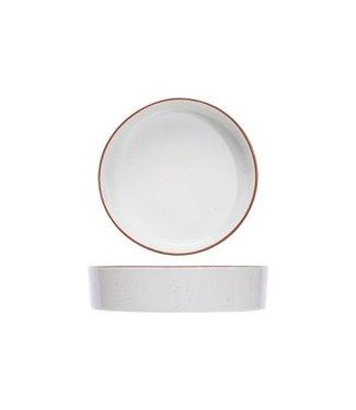 Cosy & Trendy Copenhague Speckle Assiettes Creuses - ceramique - D21xh5cm (lot de 6)