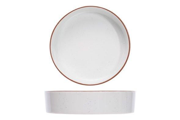 CT Copenhague Speckle Deep Plate D21xh5cm set of 6