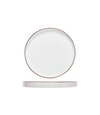 Cosy & Trendy Copenhague Speckle Flache Platte D25cm