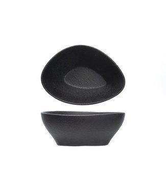 Cosy & Trendy For Professionals Blackstone Triangle Schaaltje 14x10.5xh6cm - Aardewerk (set van 8)