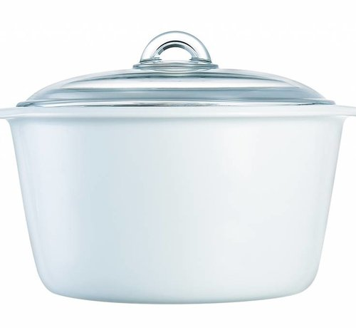 Luminarc Blooming Flamefour Cocotte 5 L