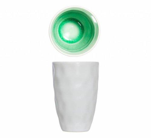 Cosy & Trendy Spirit Green Beker D7.3xh11cm 23clzonder Oor