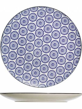 CT Piatto da Tavola Blu D20cm