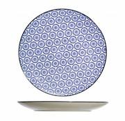 CT Tavola Blue Flat Plate D26cm