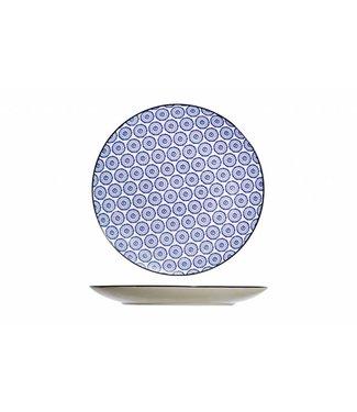 Cosy & Trendy Piatto piano tavola blu D26cm
