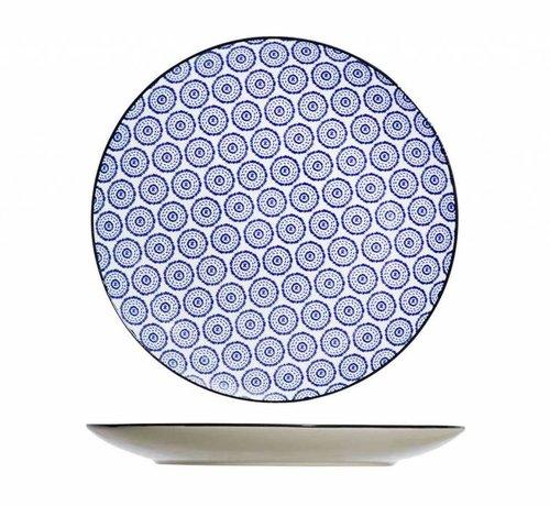 CT Tavola Blue Flacher Teller D26cm