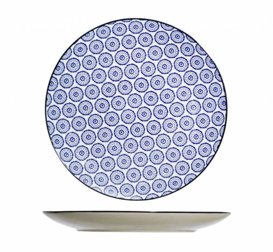 Tavola Blue Flacher Teller D26cm