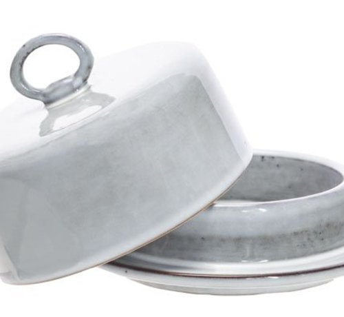 Cosy & Trendy Loft Covered Butter Dish D14xh10cm
