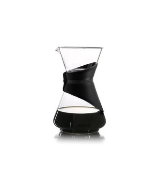 Finum Bloom And Flow Pour-over Koffiemakerzwart - Borosilicaat - 2-5t