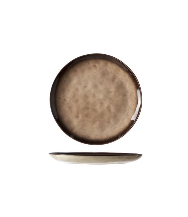 Cosy & Trendy Atilla - Dessertbord - D20.5cm - Keramiek - (Set van 6)