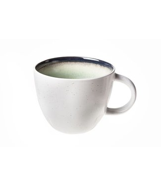 Cosy & Trendy Fez Green Coffee cup D9xh7.3cm - 26cl (set of 6)