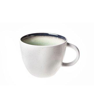 Cosy & Trendy Fez Green Koffiekopje D9xh7.3cm - 26cl Aardewerk -  (set van 6)