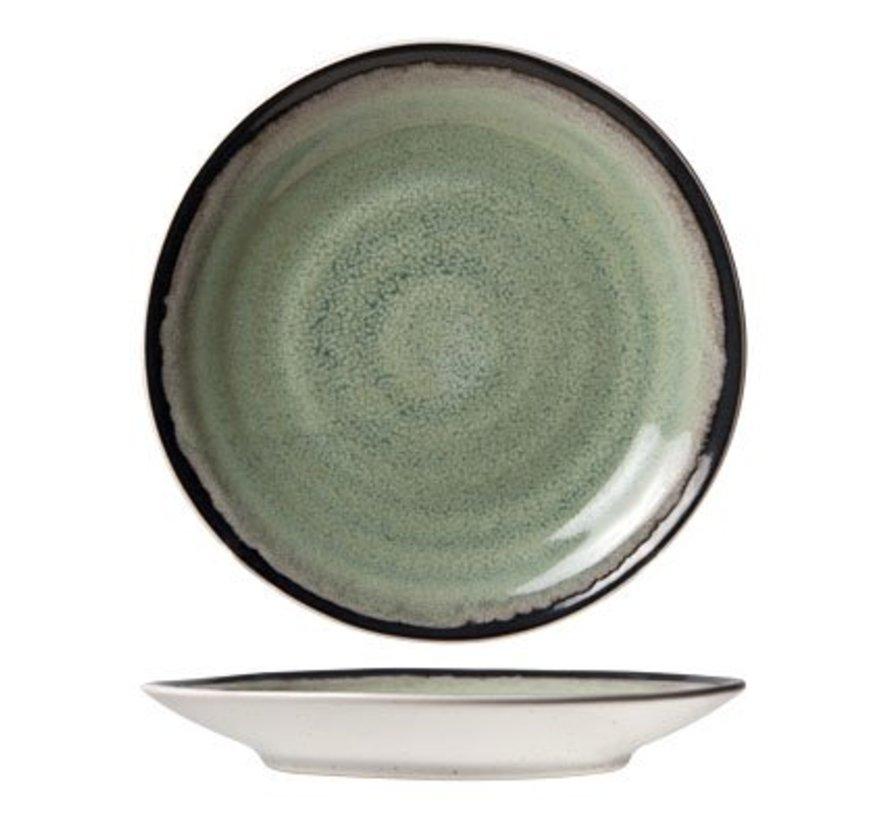 Fez Green Saucer D15.5cm