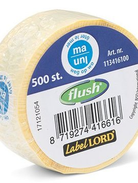 Labellord Flushlabel S500 Labels Biling Ma Weg Wo-oter Le Mer - Blue