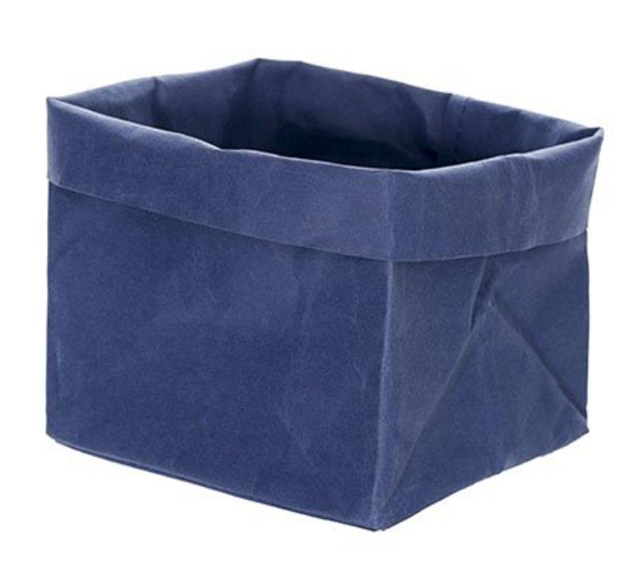 Ecosy Broodjeszak Blauw 14x14xh15cm