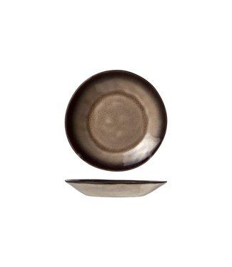 Cosy & Trendy Atilla Bruine Koffieschotels Aardewerk D15cm -  (set van 6)