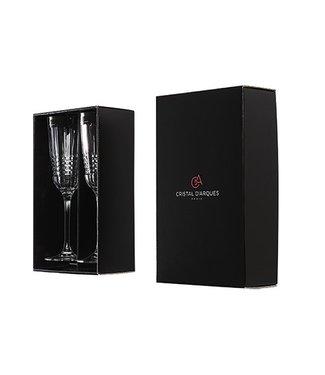 Cristal D'arques Rendez-vous Champagneglas 17cl Set2