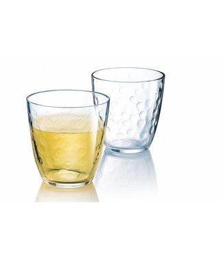 Luminarc Concepto Bulle Pois - Waterglazen - 25 cl - Glas - (set van 6)