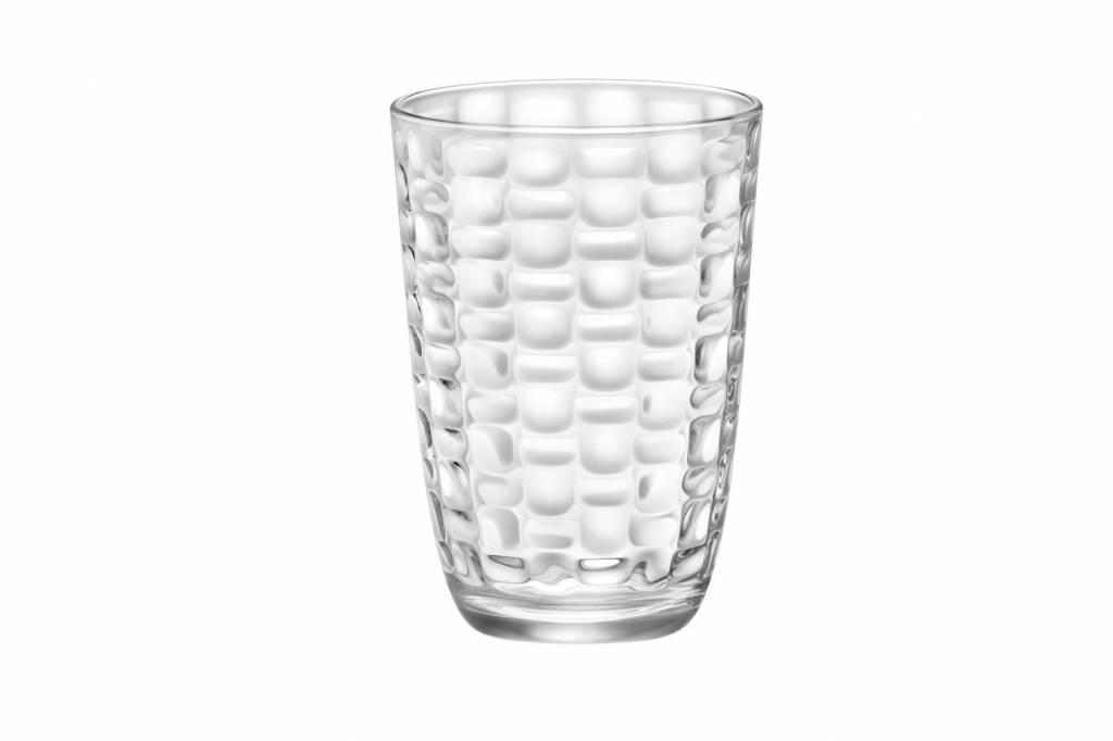 Bormioli Mat Waterglas 39cl Set6
