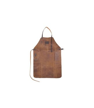 Cosy & Trendy Apron In Leather Colour Tan 80x54cm17-1112