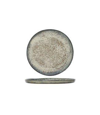 Cosy & Trendy Platos de Postre Begona en barro - D21.5cm  - Ceramica - (Juego de6)