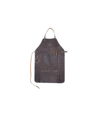 Cosy & Trendy Apron Dark Brown Leather 87x16cm17-1112