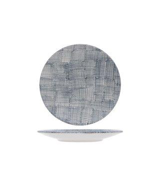 Cosy & Trendy Crayon Ege Bord in Aardewerk -  D25 cm (set van 6)