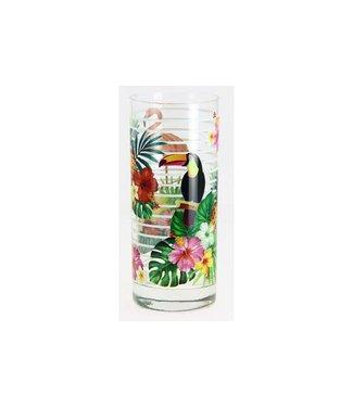 Cerve Linda Glass 36.5cl Decor Island Set 3