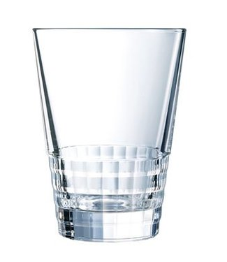Cristal D'arques Amarante Tumbler  High  36  Cl (set of 4)