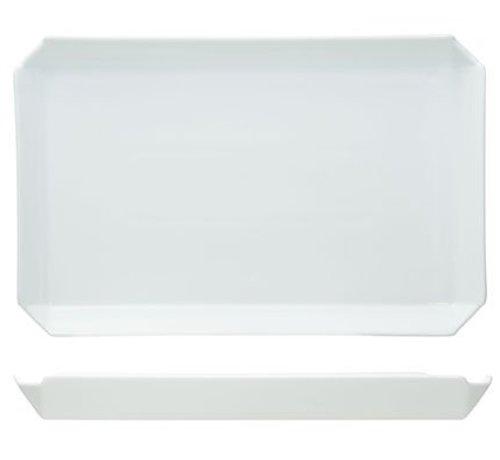 Cosy & Trendy Edge Dessertbord 25.5x16.5xh2.4xcm
